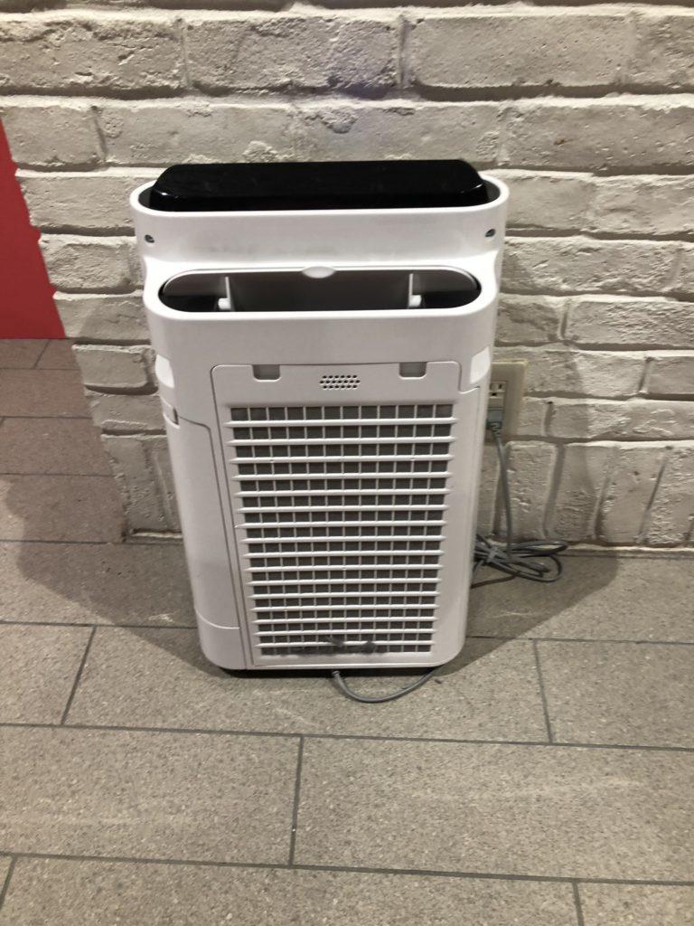 におい展の空気清浄機