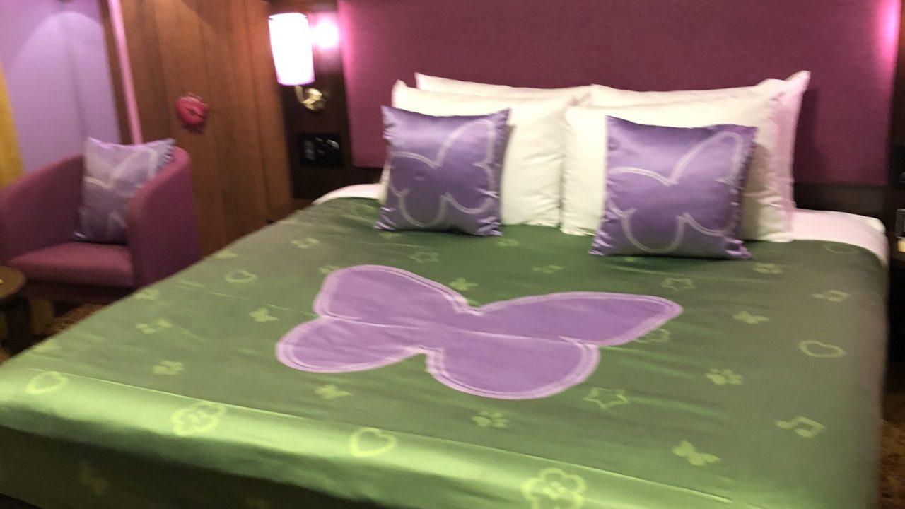 レゴフレンズの寝室