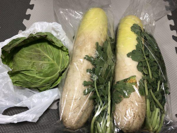 ソレイユの丘で収穫体験した野菜