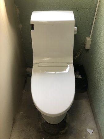 青根キャンプ場のトイレ