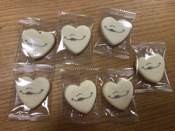 鴨川シーワールドのネルーがクッキー個包装