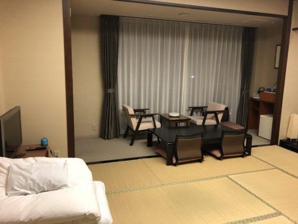 ホテルシーサイド江戸川の和室