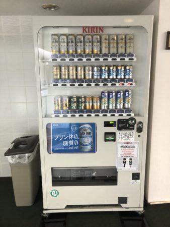 ホテルシーサイド江戸川の自動販売機