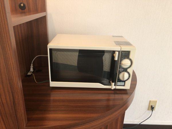 ホテルシーサイド江戸川の電子レンジ