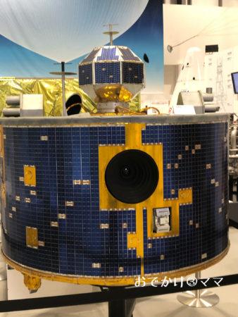 JAXA相模原の原寸大はやぶさの模型