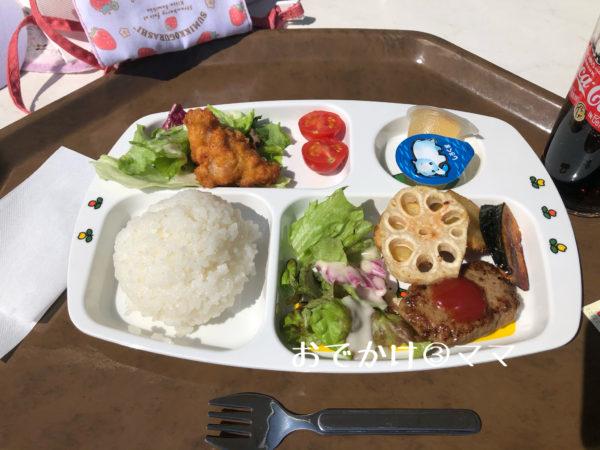 花菜ガーデンのレストランキッチンHanaのキッズプレート