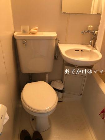 リッチランドのコテージのトイレ