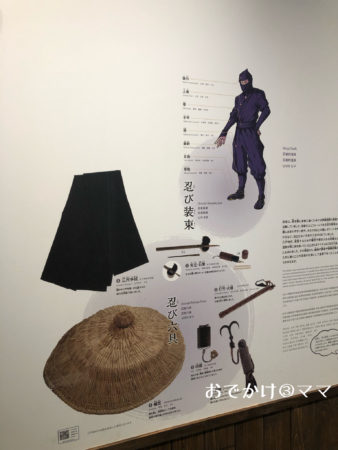 小田原忍者館の忍者の歴史
