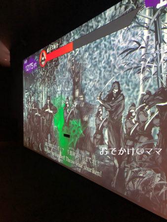 小田原忍者館の実践ゾーン