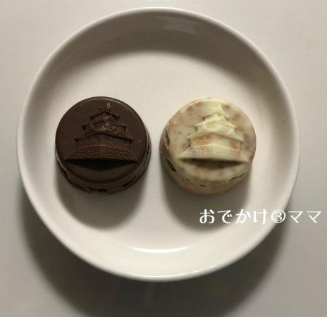小田原城のチョコクランチの中身