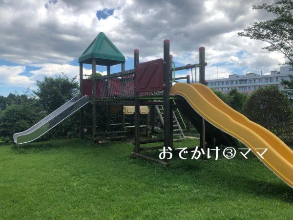 大野路ファミリーキャンプ場の大型遊具